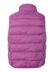 Girls Padded Pack Away Gilet With Bag