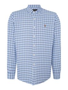 Polo Ralph Lauren Custom Fit Checked Oxford Shirt