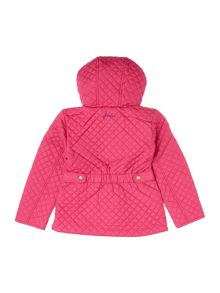 Joules Girls Hooded Quilted Jacket