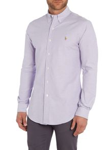 Polo Ralph Lauren Slim Fit Plain Stretch Oxford Shirt