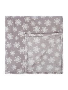 Linea Snowflake Grey Fleece