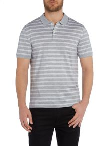 Michael Kors Stripe Polo Regular Fit Polo Shirt