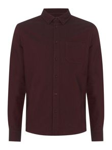 Criminal Harrison Textured Long Sleeve Shirt