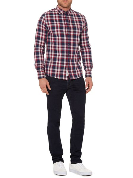 Criminal Hayden Multi Check Shirt