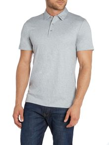 Michael Kors Sleek MK Slim Fit Logo Polo Shirt