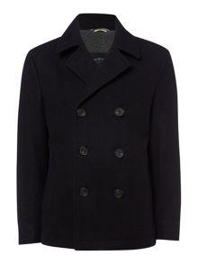 Criminal Ryan Borg Lined Peacoat