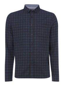 Criminal Toby Gingham Long Sleeve Shirt