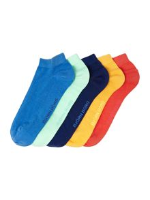 Plain Trainer Socks