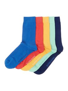 Multipack Plain Ankle Socks