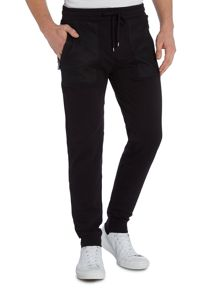 Michael Kors Tapered Fit Casual Drawstring Tracksuit Bottoms
