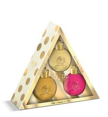 Hanging Bauble Shimmer Body Wash Trio