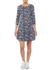 Vero Moda 3/4 Sleeve Swing Dress
