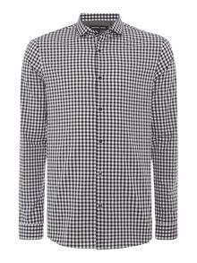 Michael Kors Liam Slim Fit Long Sleeve Check Shirt