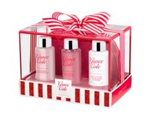 Grace Cole Frosted Cherry & Vanilla Bathing Travel Treats