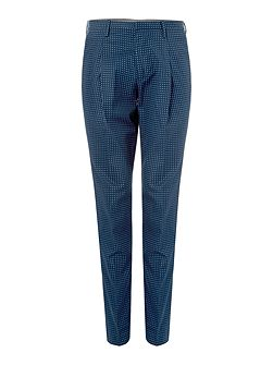 Tapered Fit Casual Tailored Trousers
