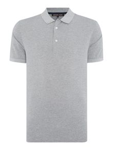 Regular Fit Patterned Print Polo Shirt