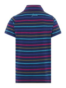 Boys Striped Jersey Polo