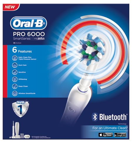 Oral B Pro6000 Electric Toothbrush