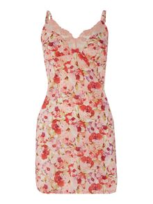 Gossard Watercolour rose floral chemise