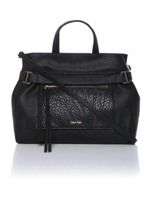 Cecile black tote bag