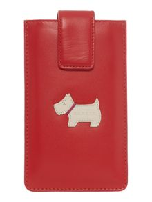 Heritage large red iphone case