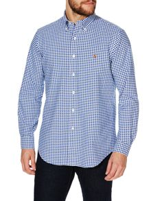 Core Fit Gingham Oxford Shirt