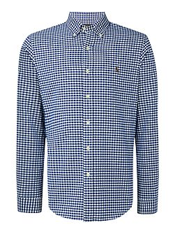 Men's Polo Ralph Lauren Slim-Fit Checked Oxford Shirt