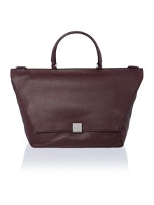 Kate burgundy medium shoulder bag