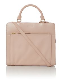 Clerkenwell light pink medium cross body bag