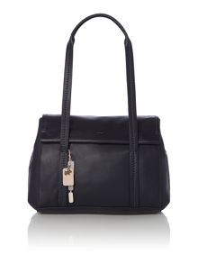 Chiswick park navy flapover shoulder bag