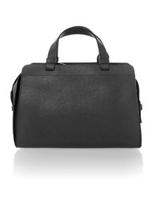 Sofie black duffle bag