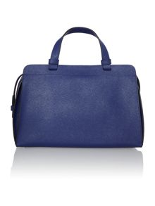Sofie blue duffle bag