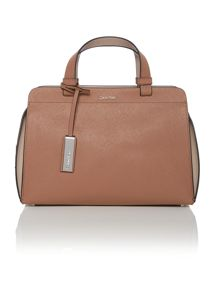 Sofie neutral duffle bag
