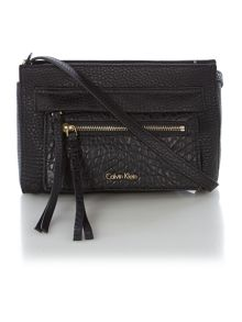 Cecile black cross body bag