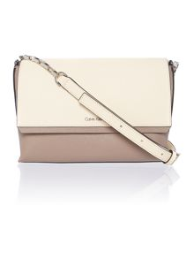 Sofie neutral cross body bag