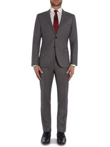 Arti1/Heibo3 Slim Fit Flannel Two-Piece Suit