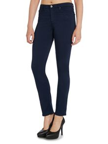 AG Jeans Prima mid rise cigarette jean in blue night