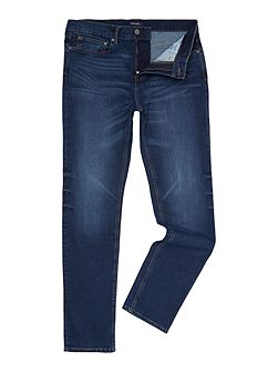 Keld worker blue slim fit jean