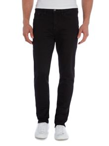 Verner true black skinny fit jean