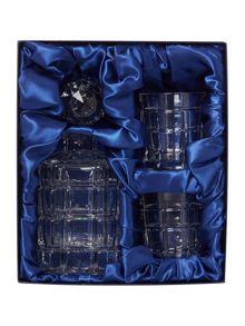 Lead crystal whisky set
