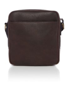 Ted Baker Mens High Shine Embossed Flight Bag