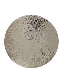 Casa Couture Beaten Metal Placemat Set Of 2