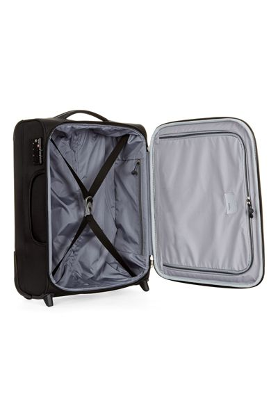 Antler Cyberlite II Black 2 Wheel Soft Cabin Suitcase