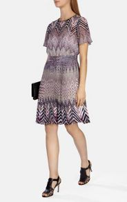 Karen Millen Zig Zag Print Dress