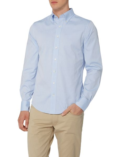 Gant Diamond G Fully Fitted Oxford Pin Point Shirt