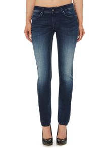 Salsa Wonder push up slim jean in dark wash