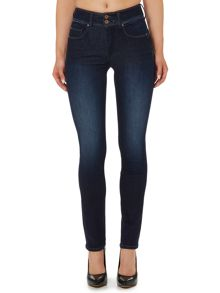 Salsa Secret push in slim jean in dark wash