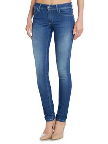 Wonder push up slim jean in clean rinse