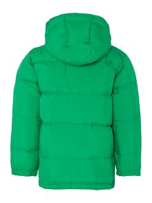 Boys Padded Jacket With Removeable Hood