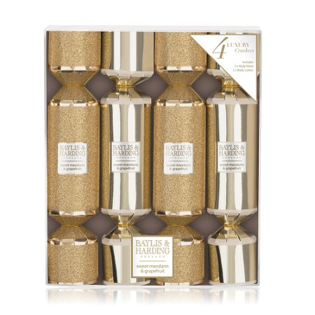 Baylis & Harding Sweet Mandarin & Grapefruit Christmas Crackers